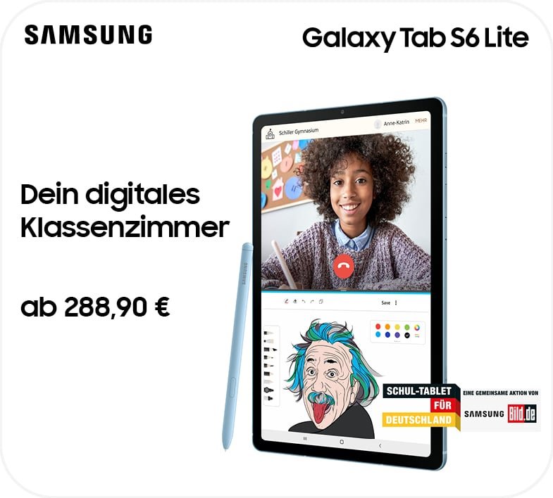 Samsung Tablet – Digitales Klassenzimmer